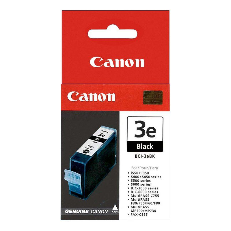 Cartridge CANON BCI-3e Black S400/450/600