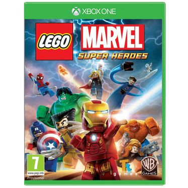 Game for XBox One  LEGO Marvel Super Heroes