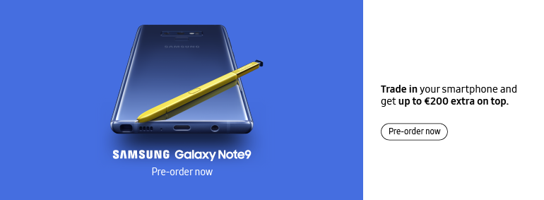 Samsung Galaxy Note9 - pre-order now!