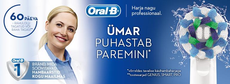 Oral-B - Ümar puhastab paremini!