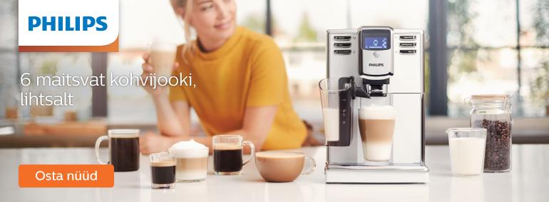 6 maitsvat kohvijooki, lihtsalt - Philips LatteGo!