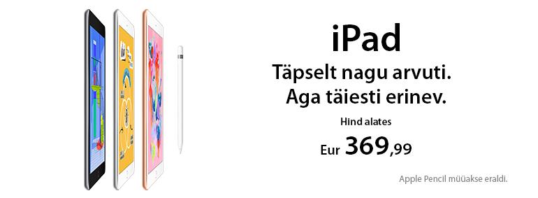 iPad - täpselt nagu arvuti. Aga täiesti erinev!