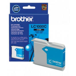 Buy Cartridge BROTHER LC1000 Cyan Elkor