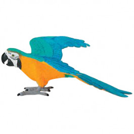 Buy Action mängukuju SAFARI WOW Blue & Gold Macaw 264029 Elkor