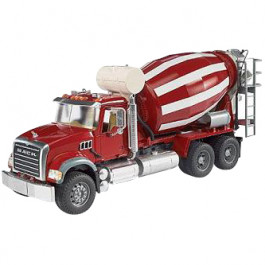 Buy Mehaaniline mänguasi BRUDER MACK Granite Cement mixer 02814 Elkor