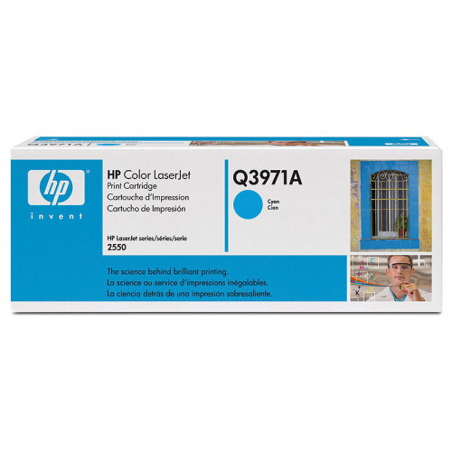 Buy Toner cartridge HP Toner Q3971 Cyan LJ2550 Elkor