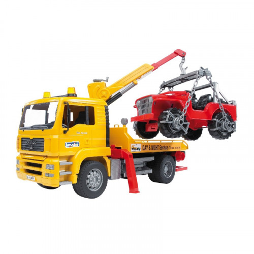 Buy Auto BRUDER MAN Truck with Cross Country Vehicle 02750 Elkor