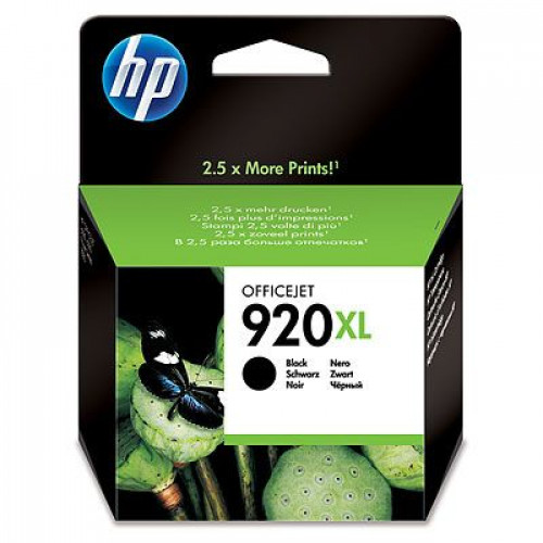 Buy Cartridge HP No.920XL Black CD975AE Elkor