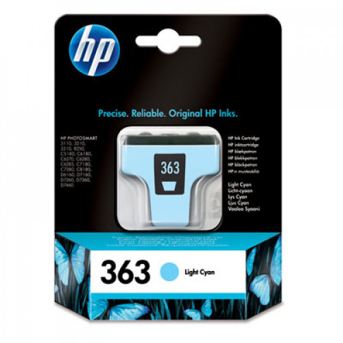 Buy Картридж HP Nr.363 Light Cyan C8774 Elkor