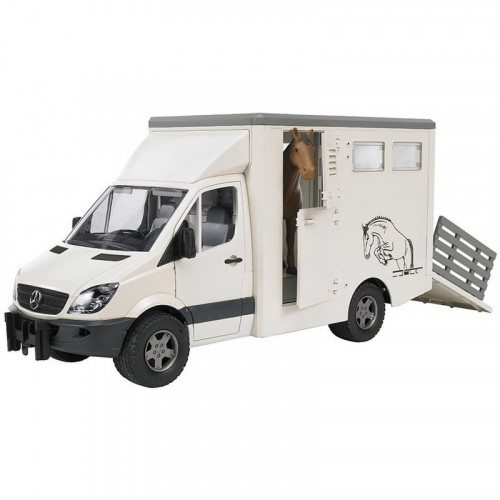 Buy Car BRUDER MB Sprinter Animal Transporter 02533 Elkor