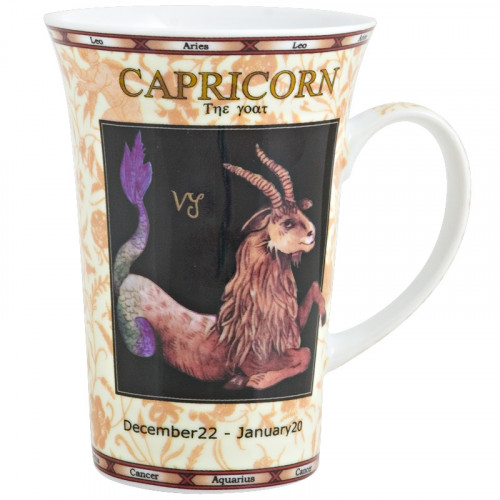 Buy Kruus LILING CERAMIC Mug zodiak CARPICORN Elkor
