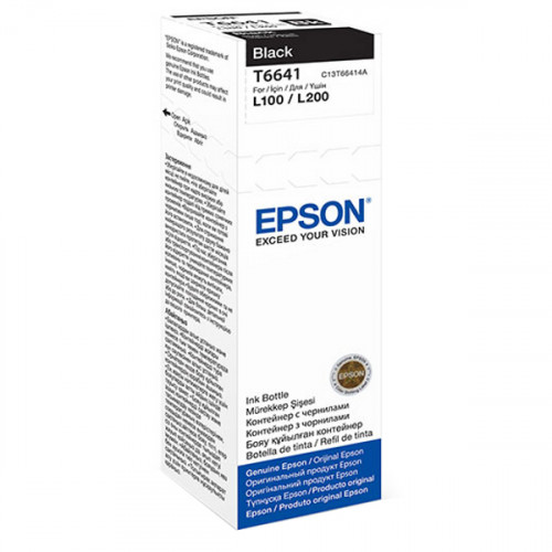 Buy Картридж EPSON T6641 Black 70ml C13T66414A Elkor