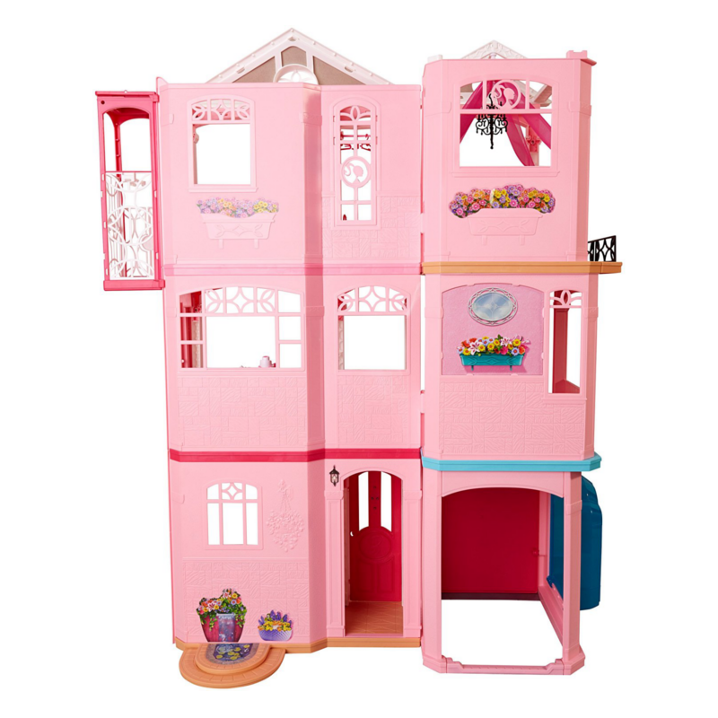 Dollhouse Barbie Dreamhouse Ffy84 Elkor Ee