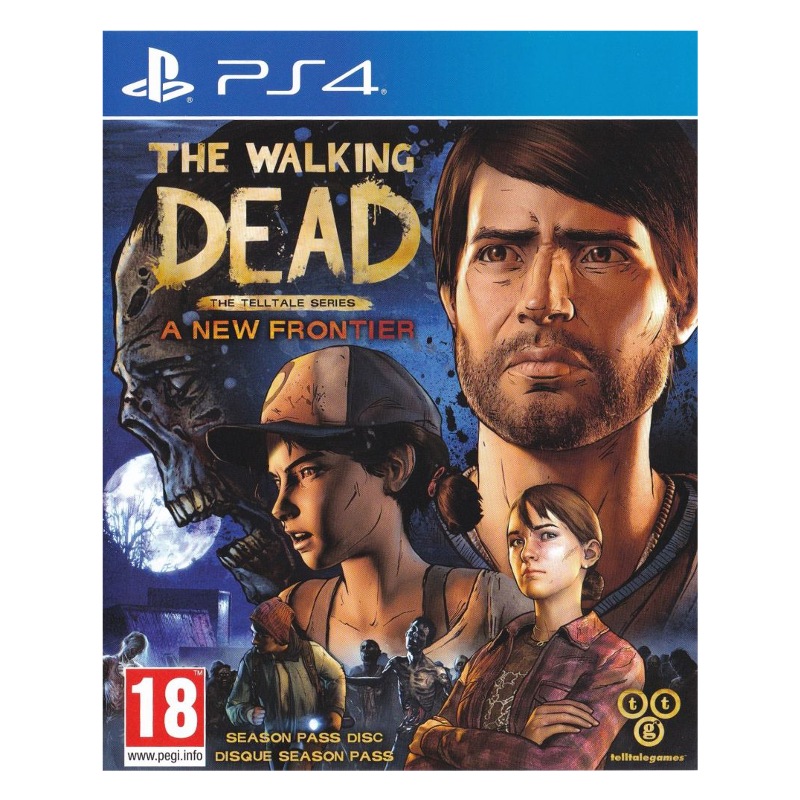 game for ps4 the walking dead a new frontier. Black Bedroom Furniture Sets. Home Design Ideas
