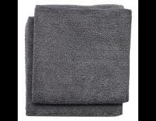 Buy Ткань для очистки BRABANTIA Microfibre Dish Cloths Dark Grey 2pcs 118029 Elkor