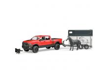 Buy Mängukomplekt BRUDER Dodge RAM+ Horse Trailer w/1 Horse 2501 Elkor