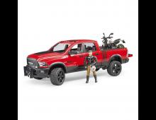 Buy Car BRUDER RAM2500 Wagon With Ducati 2502 Elkor