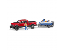 Buy Car BRUDER RAM 2500 Power Wagon With Trailer 2503 Elkor