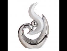 Buy Декоративная фигурка GILDE Sculpture Platinum 30005 Elkor