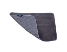 Buy Bath mat SMART Mikrofiber floormat/gray/Paklajins 65x45cm 1060-3GY Elkor