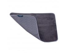 Buy Bath mat SMART Mikrofiber grey 80x50 1060-4GY Elkor