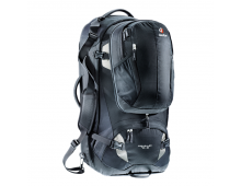 Buy Matkakott DEUTER Traveller 70+10 Black-Silver 3510115-7400 Elkor