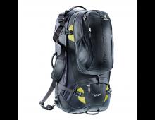 Buy Matkakott DEUTER Traveller 80+10 Black-Moss 3510115-7400 Elkor