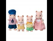 Buy Action mängukujude komplekt SYLVANIAN FAMILIES Family of Hamsters 3584 Elkor