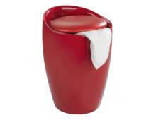 Buy Pesukorv WENKO Bath Stool Candy red 206249 Elkor