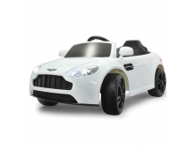 Buy Elektriauto JAMARA Ride-on Aston Martin Vantage 2.4GHz White 405011 Elkor