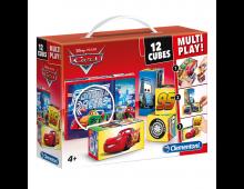 Buy Laste kuubikud CLEMENTONI Cars Cubes 12 Multi Play 41505 Elkor