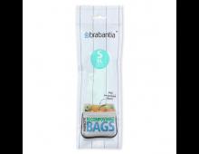 Buy Мешки для мусора BRABANTIA S 6L 419683 Elkor