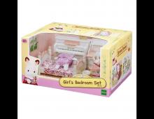 Buy Action mängukujude komplekt SYLVANIAN FAMILIES Girl's Room Set 5032 Elkor