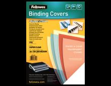 Buy Обложки для сшивания FELLOWES 200 mic A4 PVC Covers 100p Clear 53761 Elkor