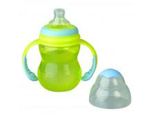 Buy Pudel NUBY Mācību pudelīte ar rokturiem (240ml) ID92181 Elkor