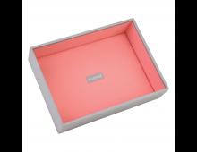 Buy Juveelikarp STACKERS Classic Deep Open Dove Grey with Coral Lining 73559 Elkor