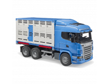 Buy Auto BRUDER Scania Rseries Cattle Transp.Truck With Cattle 3549 Elkor