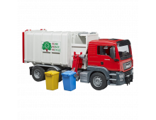 Buy Auto BRUDER MAN TGS Side Loading Garbage Truck 3761 Elkor