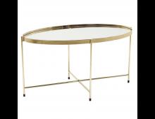 Buy Laud KARE DESIGN Miami Oval Brass 82740 Elkor