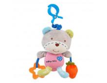 Buy Mänguasi lapsevankrisse BABY MIX Bear 861186 Elkor