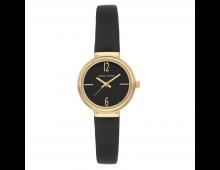 Buy Kell ANNE KLEIN Leather Strap Black 3230BKBK Elkor