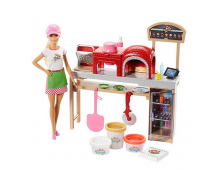 Buy Nukk BARBIE Barbie Pizza Chef Doll and Playset FHR09 Elkor