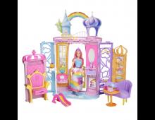 Buy Nukumaja BARBIE Dreamtopia Portable Castle Dollhouse FTV98 Elkor