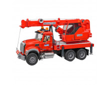Buy Auto BRUDER MACK Kran-LKW with Light and Sound 2826 Elkor