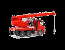 Buy Auto BRUDER MBArocs Fire Engine Crane Truck w.light 3675 Elkor