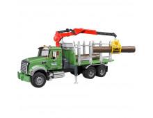 Buy Auto BRUDER Mack Granite Timber truck 2824 Elkor