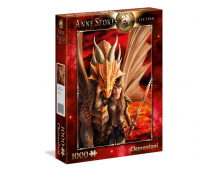 Buy Puzzle CLEMENTONI Anne Stokes Collection Inner Strenght 39464 Elkor