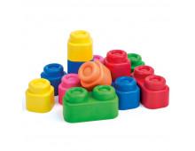 Buy Mänguasi lapsevankrisse CLEMMY 12 Soft blocks set Elkor