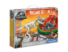 Buy Loovtegevuse komplekt CLEMENTONI Jurassic World - Set Volcano + T-Rex 2 in 1 19065 Elkor