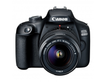 Buy Digital SLR camera CANON EOS 4000D 18-55 III Black Elkor